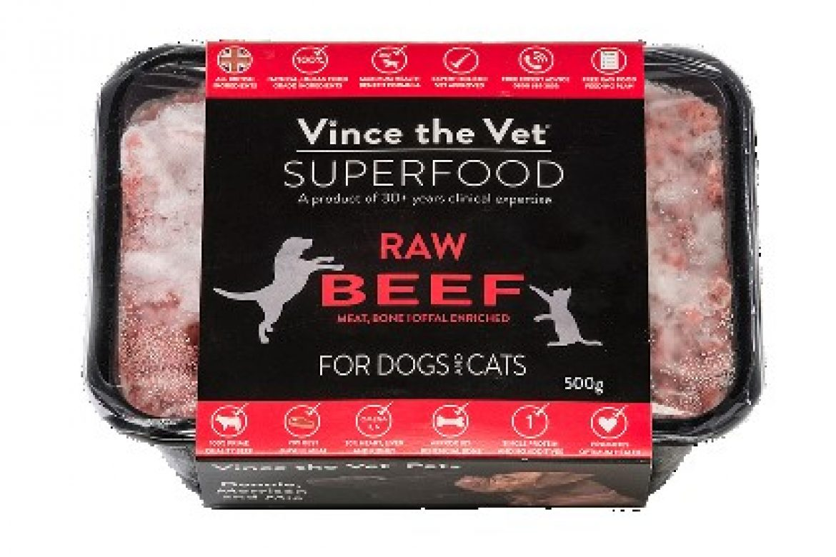 thumbnail_Vince the Vet Superfood Raw - Beef with Beef Offal 500g - med