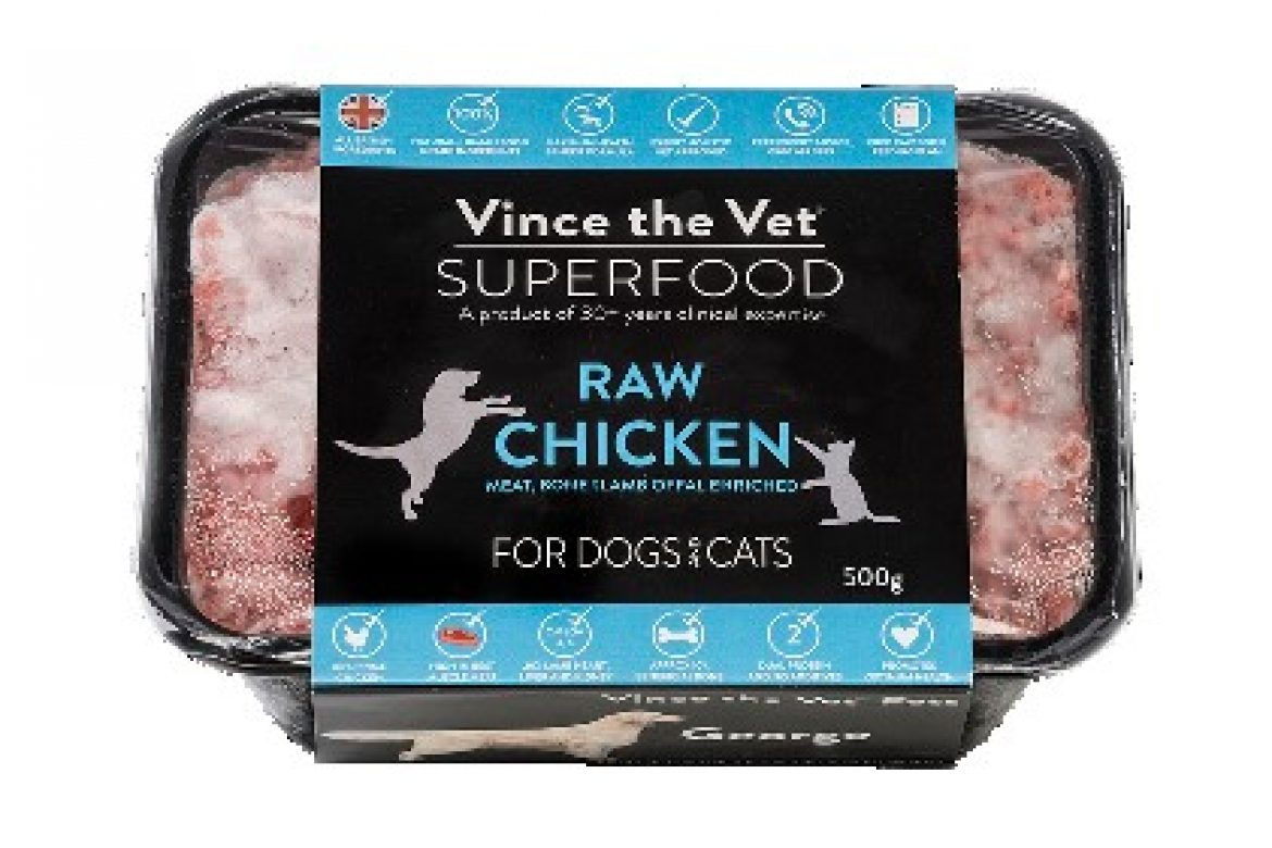 thumbnail_Vince the Vet Superfood Raw - Chicken with Lamb Offal 500g med
